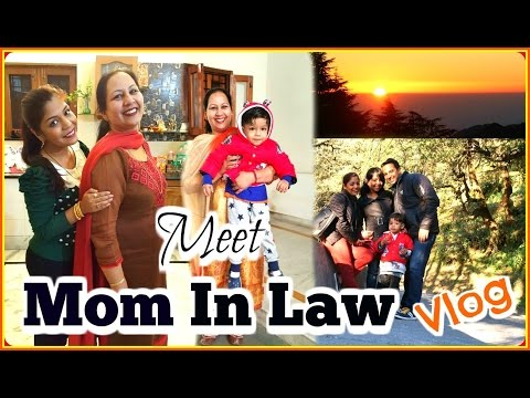 India Vlog | Meet Mom In LAW , Mussoorie Landour TOUR | SuperPrincessjo