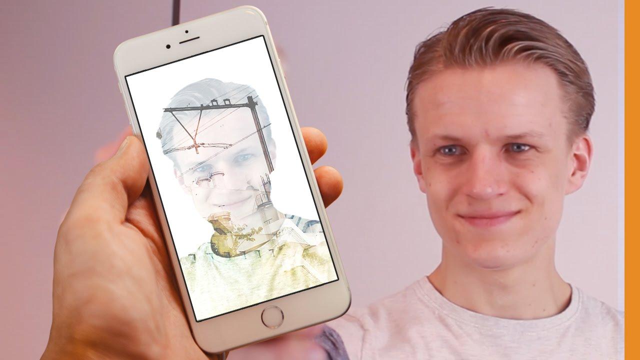 Een creatief selfie effect - Mobile Serie