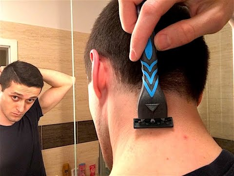 How To Shave The Back Of Your Neck [TUTORIAL]