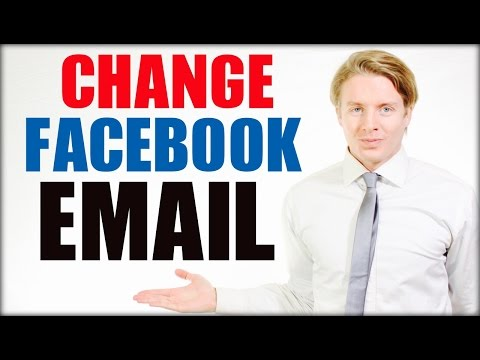 How to change email address on Facebook - 2016 Tutorial