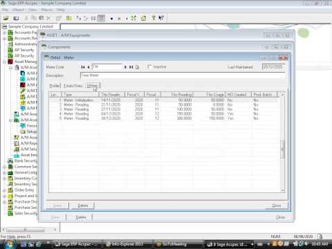 Norming Asset Accounting Maintenance