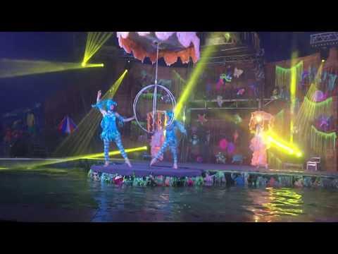 Клевое шоу цирка , Огня Воды и Света . В Казани