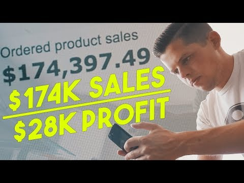 $28,000 PROFIT in 1 Month (JULY 2017 Amazon FBA Income Repor
