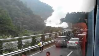 常吉高速天然气罐车爆炸(The explosion of natural gas tanker)