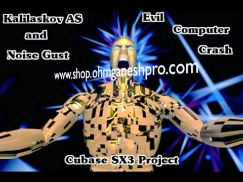 Kalilaskov AS & Noise Gust - Evil Computer Crash (Cubase SX3) Project