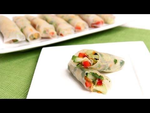 Homemade Summer Rolls Recipe - Laura Vitale - Laura in the Kitchen Episode 774