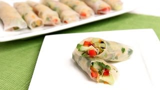Homemade Summer Rolls Recipe - Laura Vitale - Laura In The Kitchen Episode 774