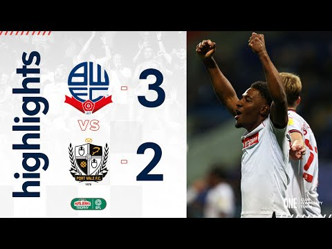 Bolton Port Vale Goals And Highlights