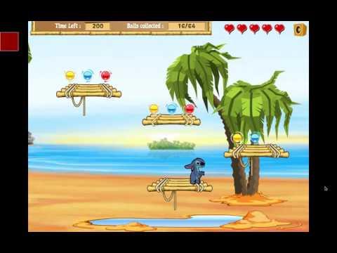 Прохождение игры Лило и Стич - пляж сокровищ