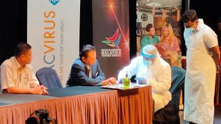 Kini TracVirus Promosi Ujian Saringan COVID-19 Bersama Malaysia Tourism 23/7/2020