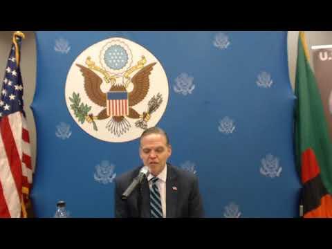U S Ambassador to Zambia, Mr Daniel Foote respond Back to Zambian Government