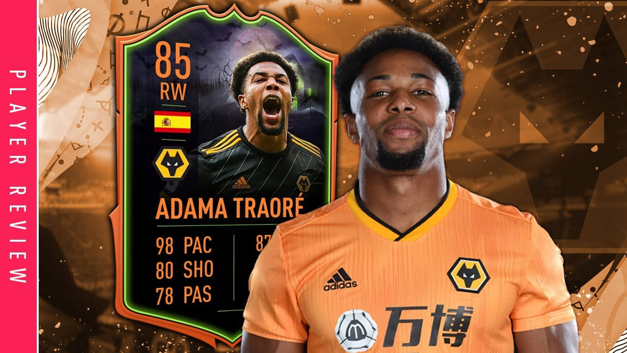 Fifa 20 Scream Adama Review 85 Ultimate Scream Adama Traore Player Review Fifa 20 Youtube
