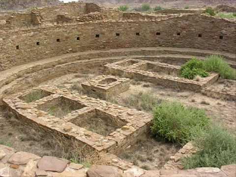 Mysterious Ruins at Chaco Canyon