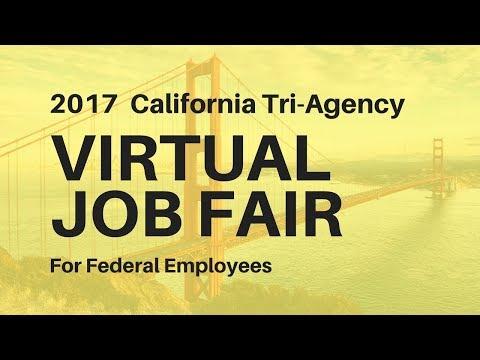 WorkForCA: California Tri-Agency Virtual Job Fair 2017 Recording