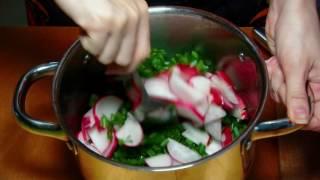 Суперрецепт салата из редиски на зиму
