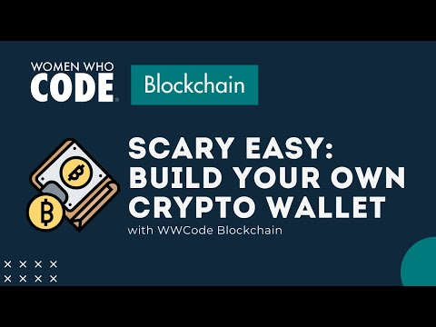 Scary Easy: Build Your Own Crypto Wallet