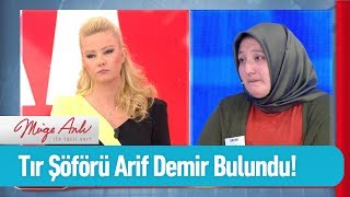 Tır söförü Arif Demir bulundu - Müge Anlı ile Tatlı Sert 7 Ekim 2019