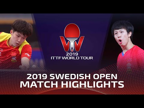 Wang Chuqin Vs Lin Gaoyuan | 2019 ITTF Swedish Open Highlights (Final)