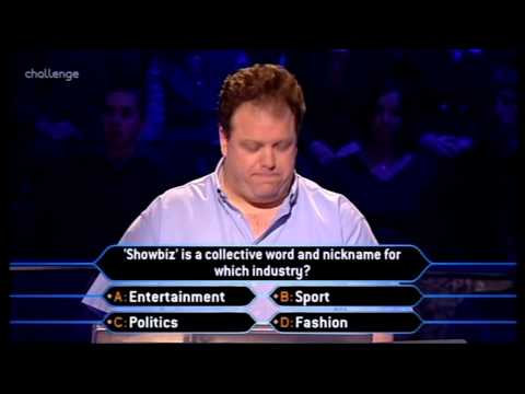 Who Wants to be a Millionaire 19th February 2002