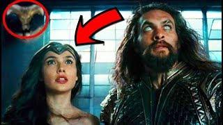 No viste esto En el Trailer de La Liga de la  Justicia y te Sorprenderá- Análisis -Justice League