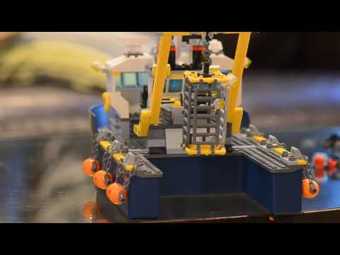 Lego 60095 review Deep Sea Explorer