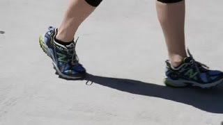 How to Improve Not Walking on Toes : Walking & Other Fitness Tips