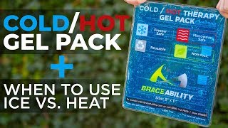Reusable Cold & Hot Gel Pack + Tips on When to Use Ice vs. Heat Therapy screenshot 3