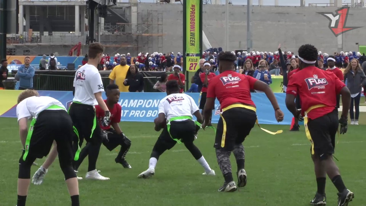 Must See Plays from the 2017 NFL Flag Football ...
