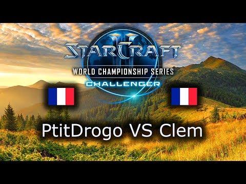 PtitDrogo VS Clem - WCS Challenger Spring 2019 Group D - polski komentarz