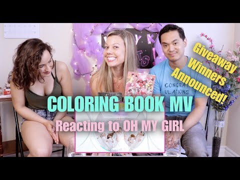 Coloring Book by OH MY GIRL - M/V Reaction & Giveaway Winners Announced