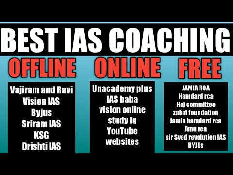 Best Ias Coaching Online Offline And Free In India | Best Upsc Coaching Offline Online In India
