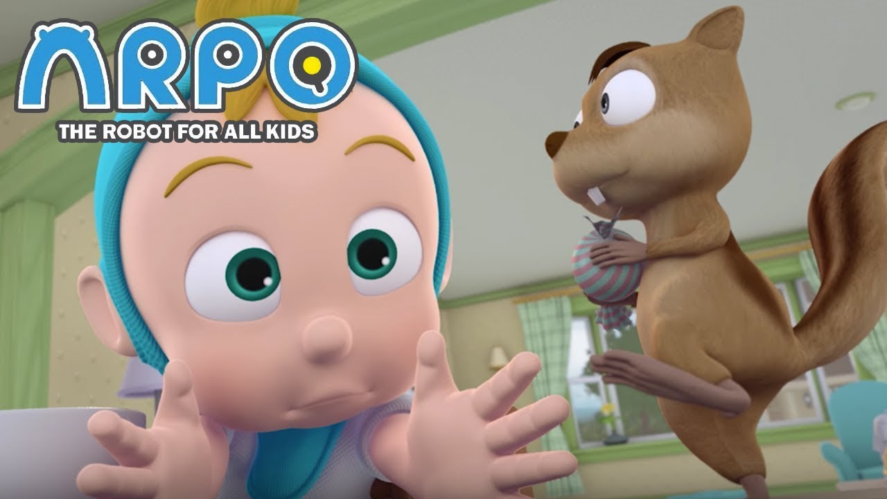 ARPO The Robot For All Kids - Squirrel VS Baby | Compilation | Cartoon for Kids