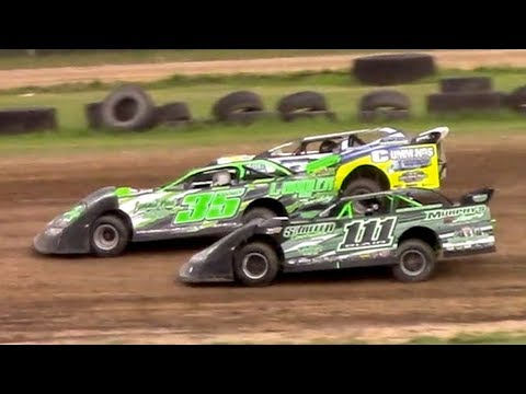 RUSH Crate Late Model Heat One | McKean County Family Raceway | 7-3-18