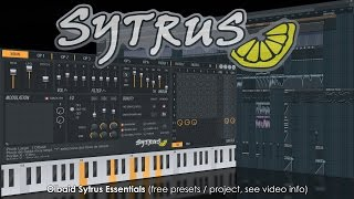 Sytrus   Olbaid Sytrus Essentials (free download, see video info)