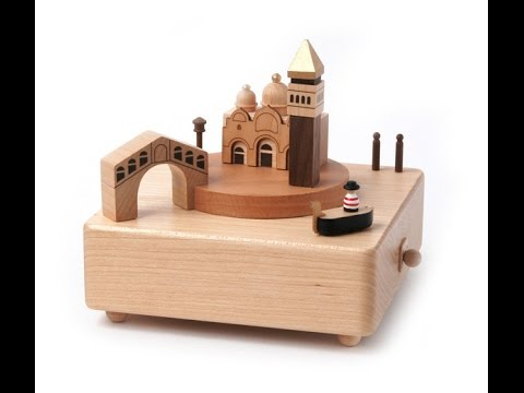 Wooderful Life Music Box - Venice@SuperSmartChoices