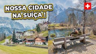 TOUR PELA NOSSA CIDADE NA SUÍÇA 🇨🇭