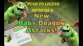 TH9 PUSHING TO LEGEND WITHOUT HEROES | #EPISODE 8 | CLASH OF CLANS | ATTACK REPLAYS