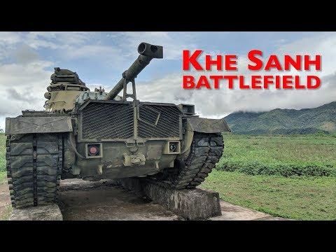 Vietnam War - Khe Sanh Battlefield