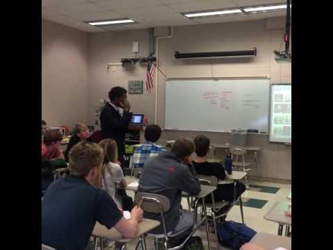 MuLaw Speaks @ Radnor Senior High School Pt. 1