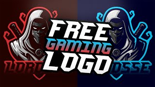 Gaming Logo Design, Easy To Edit!