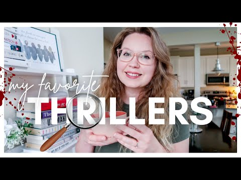 25 + THRILLER RECOMMENDATIONS 2021 [my FAVORITE psychological/mystery/horror THRILLERS]