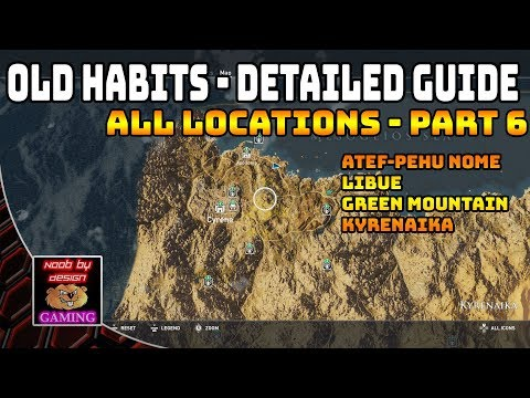 Assassins Creed Origins - Detailed Locations for Old Habits - Part 6