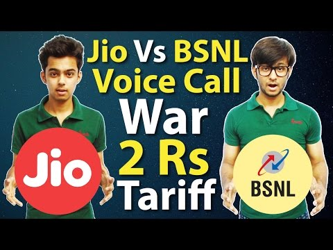 Reliance Jio 4G Vs BSNL Free Voice Calling Service starts from 2Rs only