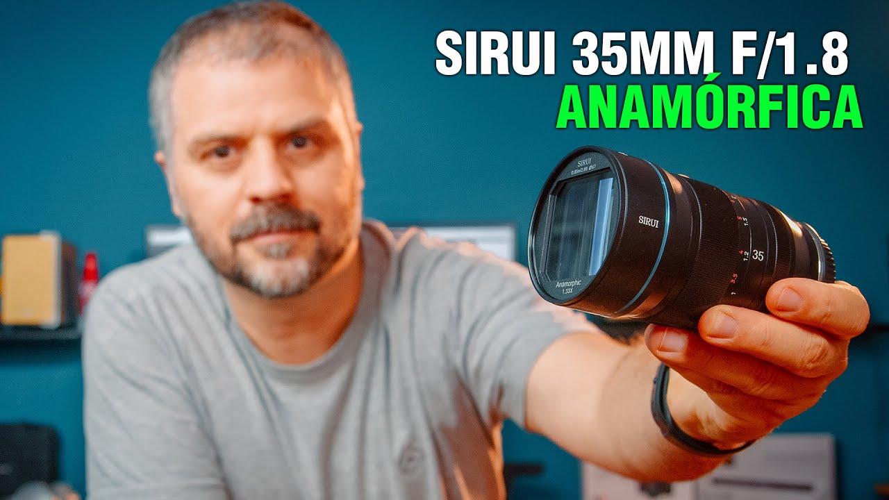 SIRUI 35mm f/1.8 Anamórfica: Review e teste desta lente revolucionária