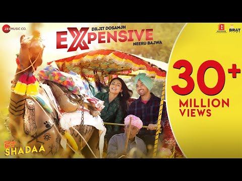 EXPENSIVE - SHADAA | Diljit Dosanjh | Neeru Bajwa | 21st June | New Punjabi Song 2019