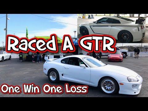 GTR Called Out The Supra!