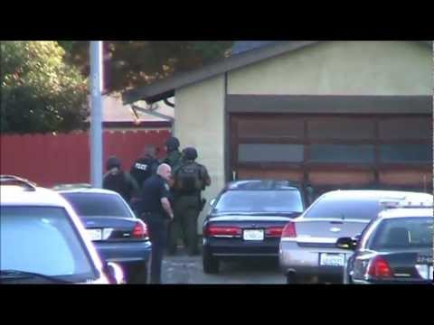 Police Manhunt || Pawnshop Armed Robbery || Fremont, California || 26th October 2012 ||