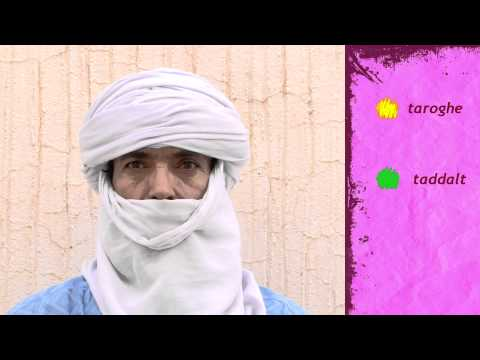 Les couleurs en tamasheq