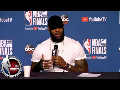 [FULL] LeBron James On Hand Injury, Future With Cavaliers And 2018 NBA Finals Loss | NBA On ESPN