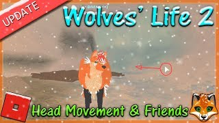 Roblox - Wolves' Life 2 - Head Movement & Friends - HD